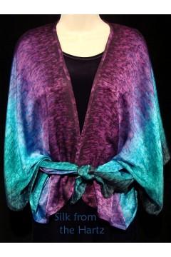 Jewel Tone Silk Wrap