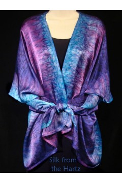 Purple Silk Wrap